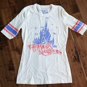 Never worn Magic Kingdom fitted baseball tee